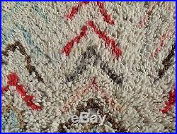100% Authentic Azilal Moroccan Rug Wool Beni Ourain vintage Carpet 6' x 2'3