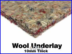 10mm Thick Carpet Underlay Superb Heat Insulation & Acoustic Proofing Cheap