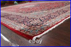 10x14 Large Hand-Knotted Ardakan Floral Area Rug Traditional Oriental RED Carpet
