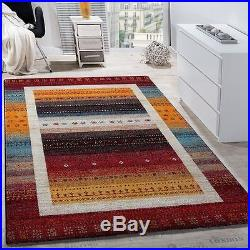 Designer Rug Small Large Carpet Modern Style Colourful Mat Living Area Mats Red