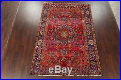 Floral Oriental Kashmar Area Rug Wool Hand-Knotted 6'x9' Home Decor Carpet