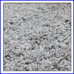 Grey Shaggy Rugs Small Xlarge Thick Plain Soft Fluffy Bedroom Carpets Floor Mats