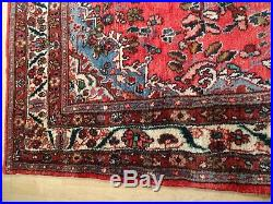 Large PERSIAN RUG hand made CARPET WOOL oriental 10ft 2 x 9ft 4