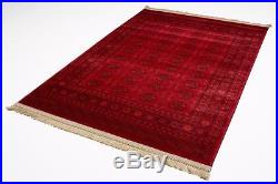 Large Red Traditional Afghan Area Rugs Persian Carpet Oriental Soft Rug Mats