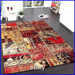 Large Rug Carpet Modern Traditional Rugs Shabby Chic Patchwork Design Mats New
