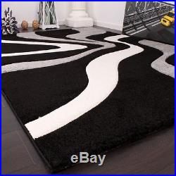 Large Rug Modern Rugs Small Soft Carpet New Mats Grey Waves Patterned Mat new