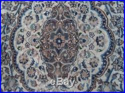 Large persian vintage rug carpet oriental wool hand knotted -nain-200cm x 300cm