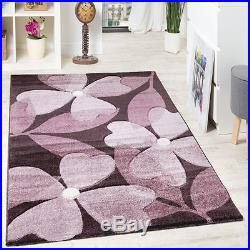Modern Rug Carpet Colourful Living Room Floral Flowers Small Large Quality Rugs