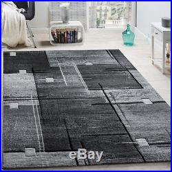 New Modern Rug Carpets Short Pile Geo Design Small Extra Large Living Area Mats