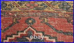 OLD WOOL HAND MADE PERSIAN ORIENTAL FLORAL RUNNER AREA RUG CARPET 205x115CM
