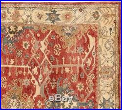 Old Hand Made Traditional Persian Rugs Oriental Wool Red Area Rug & Carpet