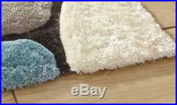 Quality Shaggy Rug Hand Tufted Soft Living Room Carpet Luxury High Pile Area Mat