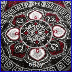 Rug Carpet Ornaments Modern Style Living Room Small Extra Large Rugs Red Grey