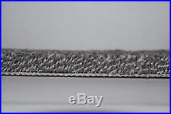SUPERB 16-17mm Thick Silver/Grey Action Back Saxony Carpet 5m Wide £14.99sqm