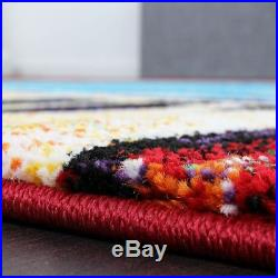 Small Extra Large Rug Colourful Vibrant Colours Carpet Living Area Bedroom Mats