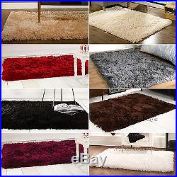 Small Extra Large Sumptuous Luxury Soft Thick Fluffy Deep Long Pile Shaggy Rug