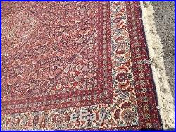 Traditional Persian Rug Red 2m x 3m Retro Vintage Style Quality Carpet RN57
