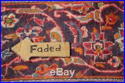 Vintage Traditional Floral FADED COLOR Ardakan Area Rug Hand-Knotted Wool 7'x10