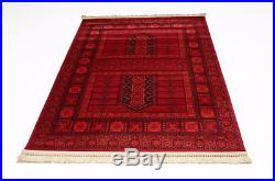 X Large Red Traditional Afghan Area Rugs Persian Carpet Oriental Soft Rug Mats
